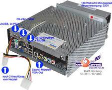 MINI PC MINI ITX BOARD EPIA SP 13000CPU VIA 1300MHz + 30 GB HDD NETZTEIL RS 232