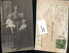 650087,Foto-AK Bruck an der Mur Familie Kinder Frau Mann