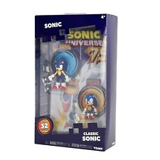 Tomy Sonic Series 2 Collector 2 Figure Pack with Comic Collectable Playset New
