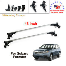 For Subaru Forester 2009 - 2011 Aluminum Car Cross Bar Cargo Luggage Roof Rack