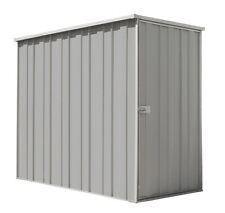YardSaver Slimline F36 2.105m x 1.07m Flat Roof Side Entry Zinc - SEPT SPECIAL