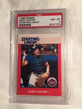1988 GARY CARTER KENNER STARTING LINEUP CARD GRADED PSA 8 POP 6