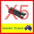 5x TN-2030 TN2030 High Cap Toner Cartridge for Brother HL-2130 HL-2132 DCP-7055