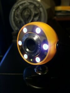 Web Camera USB 2.0 YELLOW UNBRANDED GENERIC USB 2.0 Web CAM! TESTED WORKS!