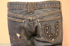 Juicy Couture Studded Horseshoe Pocket Jeans size 30