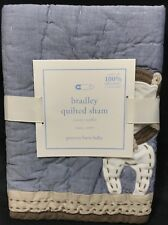 Pottery Barn Kids Bradley Organic Nursery Quilted Small Sham