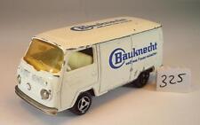 Majorette 1/60 Nr. 244 VW Volkswagen T2 Fourgon Kasten Bauknecht Nr. 1 #325