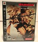 Metal Gear Solid 4: Guns of the Patriots -- Limited Edition (PlayStation 3) CIB