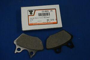 Set Dura Semi Metallic Front or Rear Brake Pad for Harley Davidson new 23-0643