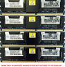 Memory Ram DDR2 PC2 5300 5300F 667 MHz 240 ECC Fully Buffered Dell Mac 2x Lot GB