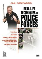 Real Life Self Defense Techniques of Police Forces DVD