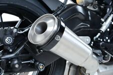 Yamaha XT660 R 2010 R&G Racing Exhaust Protector / Can Cover EP0005BK Black