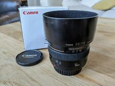 Canon 50 mm F/1.4 EF USM per Canon EF-Nero