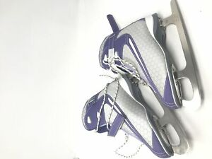 New Other DBX Womens Size 6 Soft Boot Figure Skates Purple/White