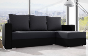 MADERA -NEW COLLECTION! PRACTICAL SOFA BED, WITH STORAGE AND UNIVERSAL CORNER