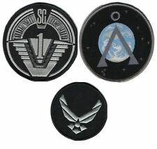 Stargate sg1 lot 3 ecussons 2nd version last version stargate team patch lot