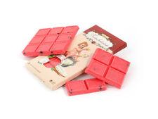 Einseifer Schokolade für die Badewanne Badeschokolade Erdbeere Badezusatz 100g
