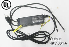 UL Neon Transformer 4000V30mA Rectifier Power Supply High Voltage Fire Maker
