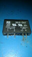 MP240D4, CROYDOM, 4 A rms Solid State Relay, Zero Crossing, Triac, 280V.