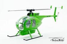 Casco-kit Hughes/MD 500c/d 1:24 para MCPX BL, trex150, wltoy v977, etc.