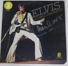 """Manuel Cuevas ELVIS PRESLEY Signed Autograph """"Double Dynamite"""" Album Vinyl LP"""
