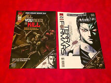 SDCC Comic Con 2014 All You Need is Kill Terra Formars Double Comic  Book Novel