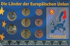 Finnland Euro KMS Die Länder der Europäischen Union 2008