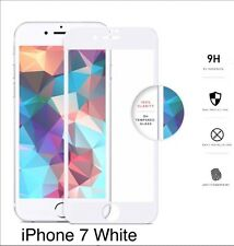 ZIZO TEMPERED GLASS .33mm 9H Screen White For Apple iPhone 7 (Full Edge To Edge)