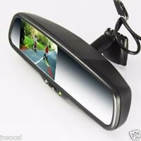 "Rear view Mirror Monitor 4.3"" for 12- 7 Nissan NV 1500 2500 3500 2 video inputs"