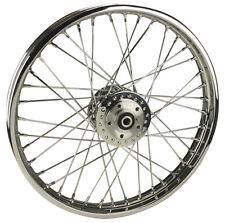 "Chrome 40 Spoke 21""x 2.15"" DD Front Wheel for Harley FX XL 78'-83', Narrow Glide"