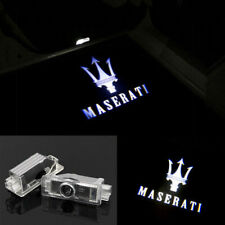 LED Door Lights HD Projectors Logo Emblem KIT For MASERATI Quattroporte Ghibli