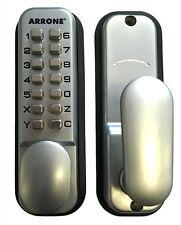 Arrone Push Button Mechanical Digital Combination Code Door Lock Keyless Access