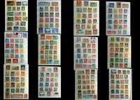 Stamp Collection Germany, Colonies, DDR, Saar, Bayern, Danzig Ext. Free Shipping
