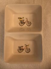 rae dunn artisan collection by magenta Bicycle Divided Dish