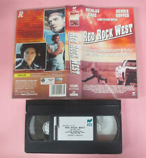 VHS film RED ROCK WEST 1994 Nicolas Cage Dennis Hopper RCS 21173 (F164) no dvd