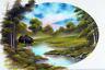Bob Ross Lakeside Cabin Art Print Painting Mural Poster 36x54 inch