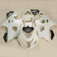 FIT For Suzuki GSXR 600 750 2004-2005 K4 Unpainted ABS Fairing Bodywork Kit NEW