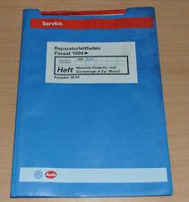 VW Passat B4 Motronic Einspritz und Zündanlage 4 Zylinder AEK Werkstatthandbuch