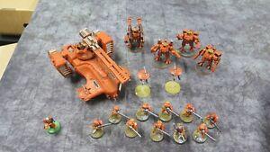 Warhammer 40k Tau Army Nicely Painted
