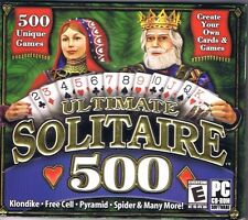 Ultimate Solitaire 500 (PC, 2003) Free USA Shipping!