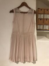 Baby Doll Dress 👗 Pleated See Through, Sheer Pink Ballet 🩰