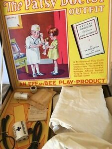 Effanbee 1933 The Patsy Doctor Outfit and Original Carrying Case