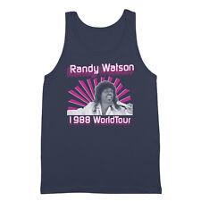 Randy Watson Sexual Chocolate  Soul Glo  Coming To America Navy Tank Top