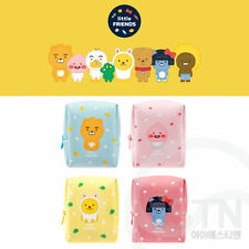 Kakao Little Friends Mini Pouch Cosmetic Travel Makeup Bag Case Storage Box Gift