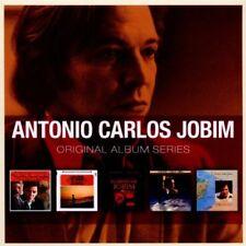 ANTONIO CARLOS JOBIM ORIGINAL SERIES 5 CD BOXJAZZ MUSIC NEW