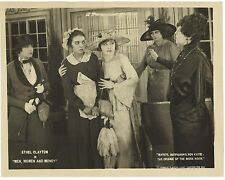 * MEN, WOMEN AND MONEY (1919) Paramount Silent Film Ethel Clayton & Zasu Pitts