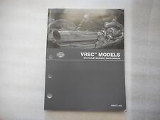 2008 Harley Davidson V Rod VRSC Models Parts Catalog 99457-08