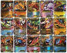 Hot Pokemon TCG 60 Card 35pcs EX Mega & 25pcs GX Cards No Repeat