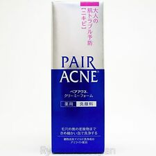 Lion Japan PAIR ACNE Medicated Creamy Foam Cleanser 80g for Acne Care