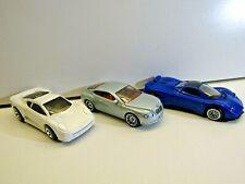 Hotwheels, Matchbox by Mattel & Motor Max Trio Pagani Zonda Jag XJ220 & Bentley